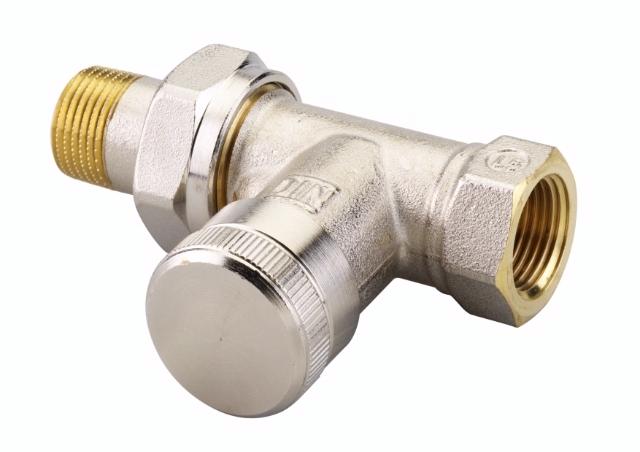 клапан запорный радиаторный danfoss